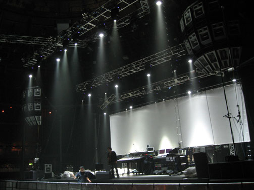 Audio Plus setting up system in London