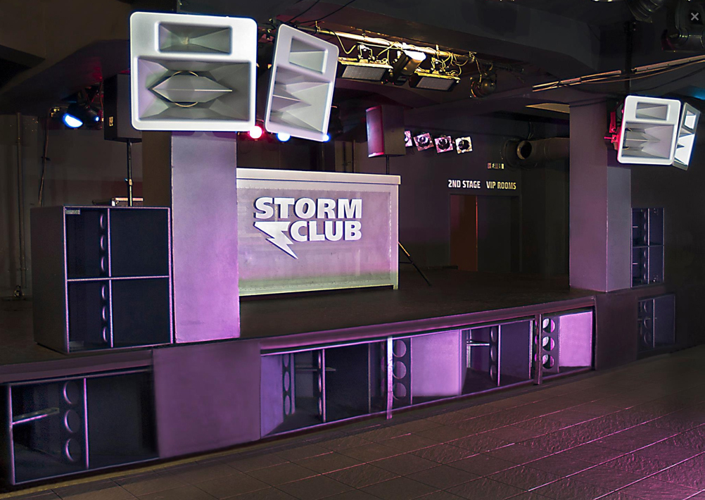Storm Club in Prague, courtesy of Vice Audio
