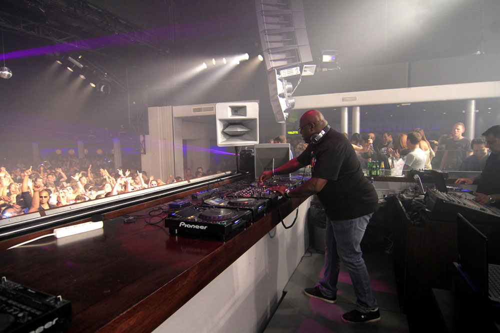 Carl Cox DJ set at Space, Ibiza