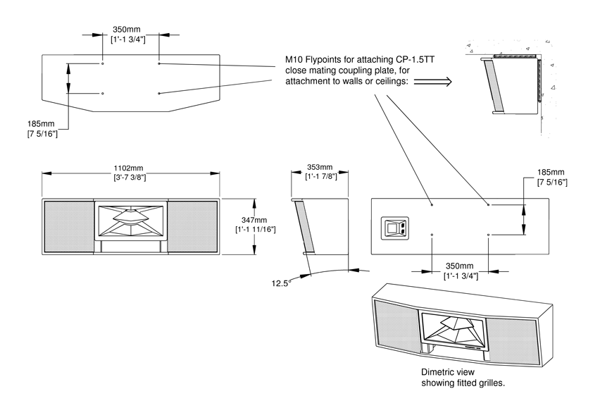 Res 1.5TT Technical Drawing